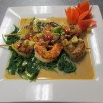 Jambo shrimp and scallop