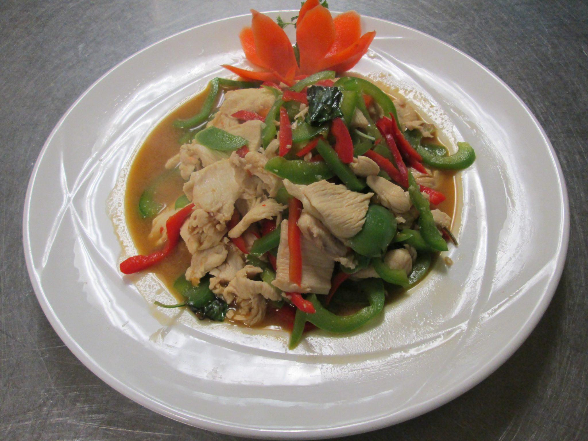 Thai Dinner Menu | Lemon Grass